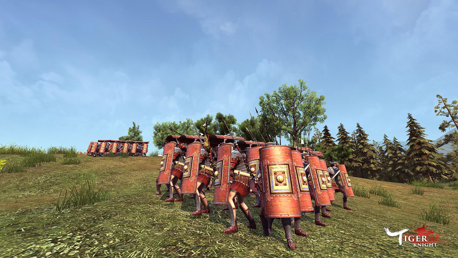 《虎豹騎》羅馬武備
